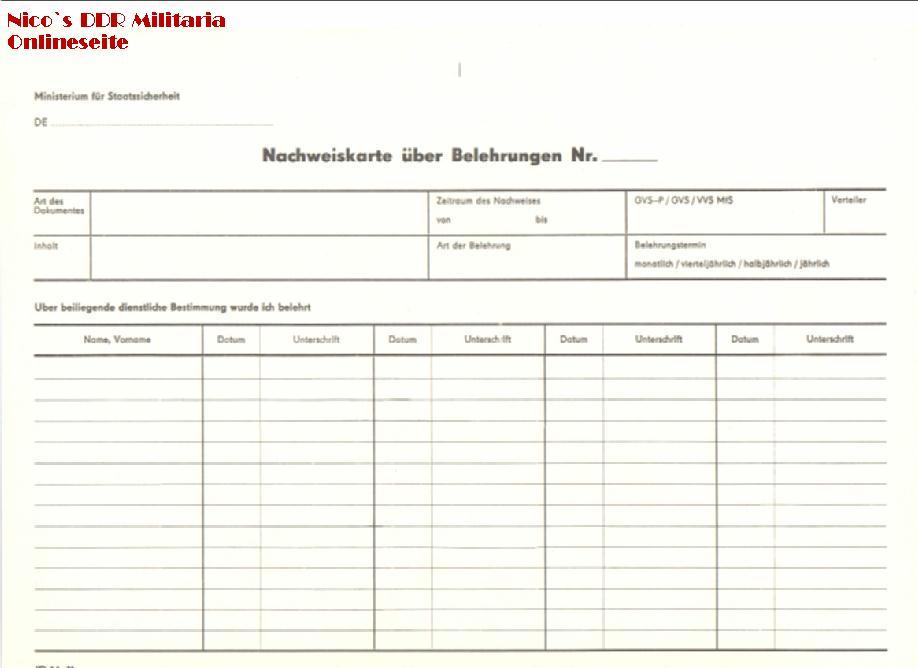 DDR Dokumente
